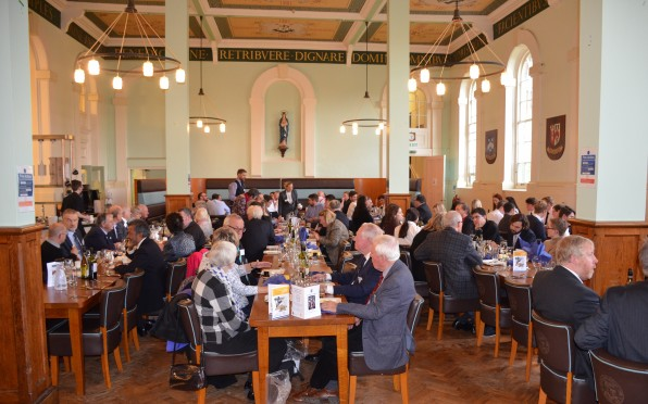 Lunch in the Refectory