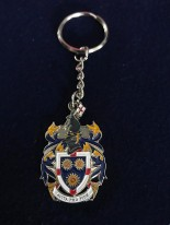 School Crest Key Ring